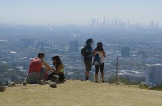 Enjoying a last visit before much-loved Runyon Canyon Park closes