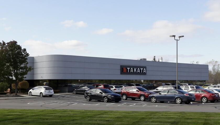About 1 million Toyota and Honda vehicles involved in new recalls are also subject to a separate recall related to defective Takata air bags that could deploy and rupture with enough force to cause injury or death.
