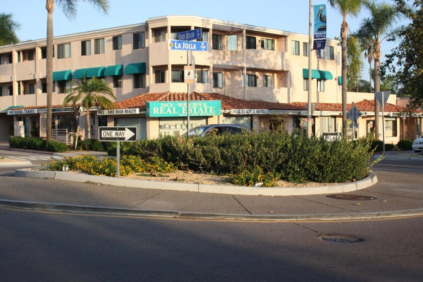 MAD funds are used to landscape and irrigate the roundabouts along La Jolla Boulevard.