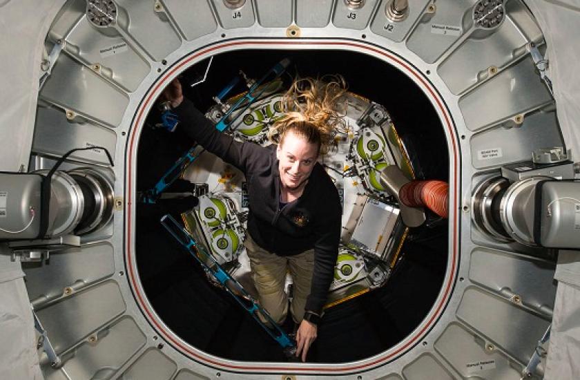 UC San Diego graduate Kate Rubins will make a return trip to the International Space Station this fall.