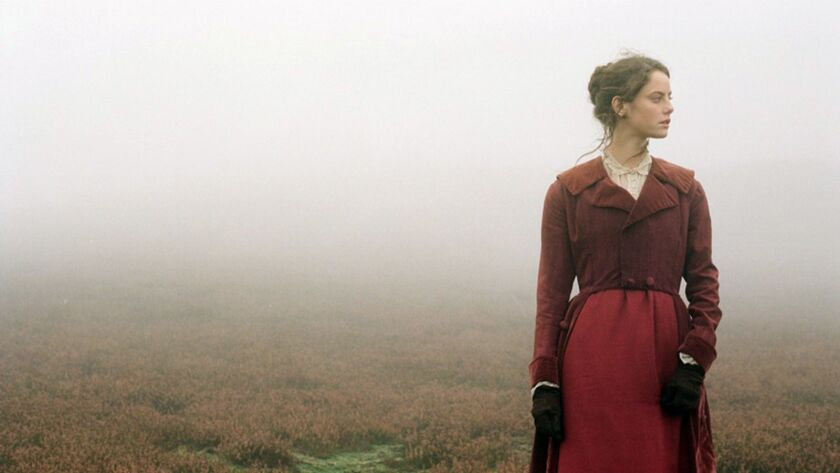 """Kaya Scodelario in the 2011 adaptation of """"Wuthering Heights"""" by Emily Brontë."""