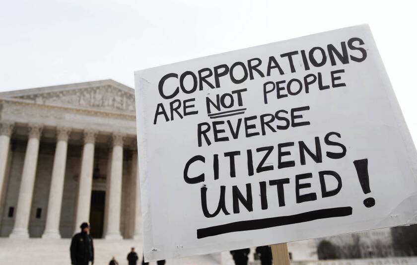 Some of the problems that critics have with the Supreme Court's Citizens United decision actually stem from a subsequent U.S. Court of Appeals case.
