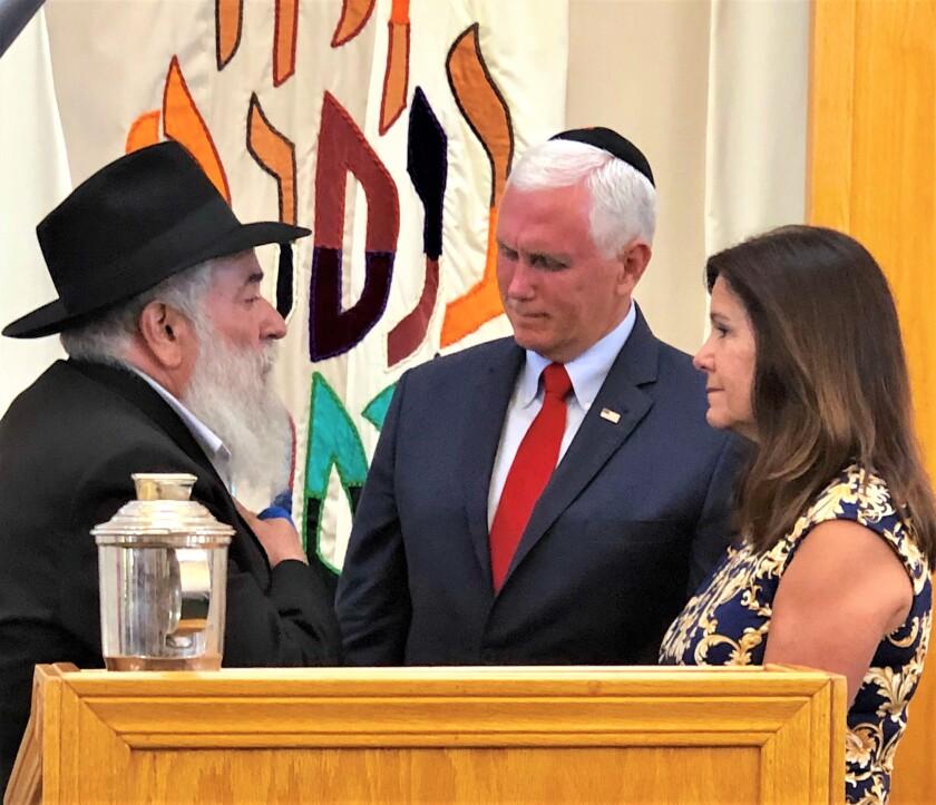 Mike Pence and Karen with Rabbi Goldstein.jpg