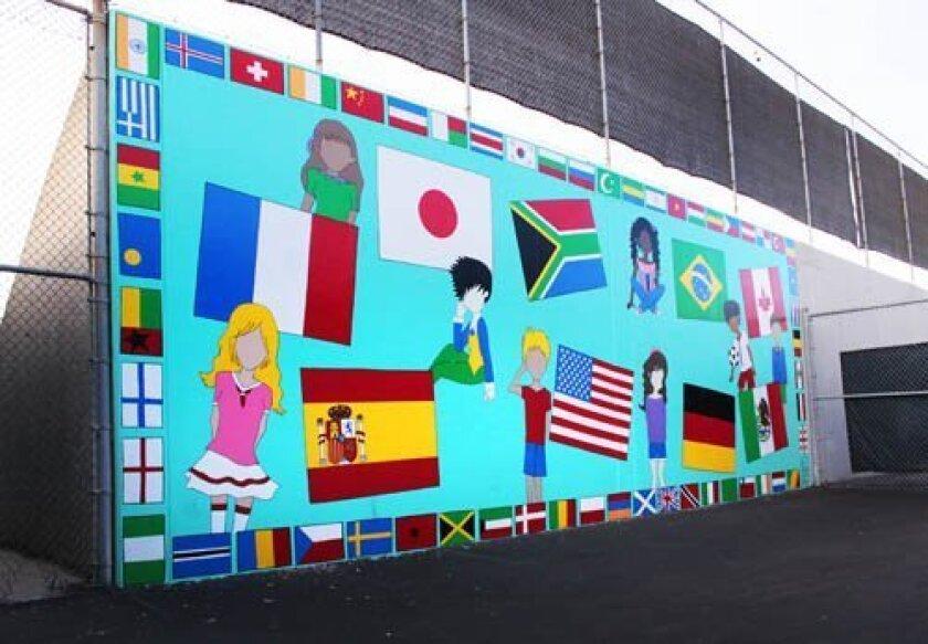 KUDOS.Muirlands Mural Flags