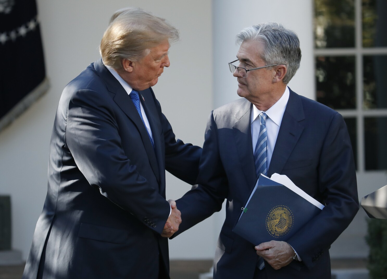 Opinion: Welcome, Jay Powell, to the ranks of Trump's public enemies