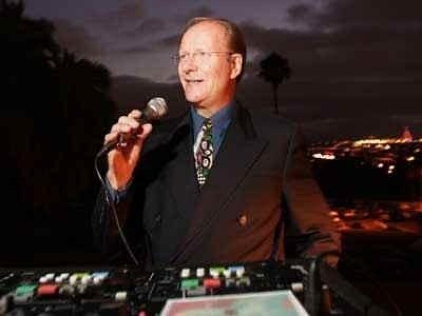 Ron Jones will play the hits at the dance party.