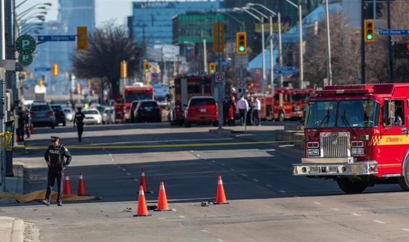 La amenaza de un posible ataque con un vehículo en el centro de Toronto ha causado hoy la alerta y un fuerte despliegue policial en los puntos más turísticos de la mayor ciudad canadiense, según medios de comunicación locales. EFE/ARCHIVO
