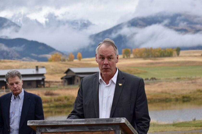 Interior Secretary Ryan Zinke is the latest Trump cabinet member to face allegations of improper travel accommodations.