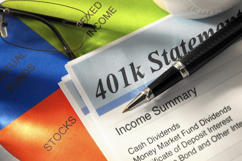 In uncertain times, don't be tempted to panic over your 401(k) and make rash decisions.