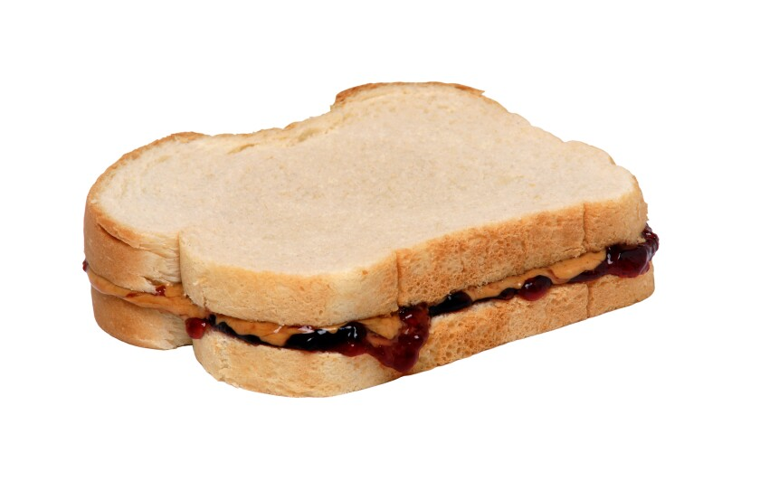 """A peanut butter and jelly sandwich comes up in this week's """"A Word, Please."""""""