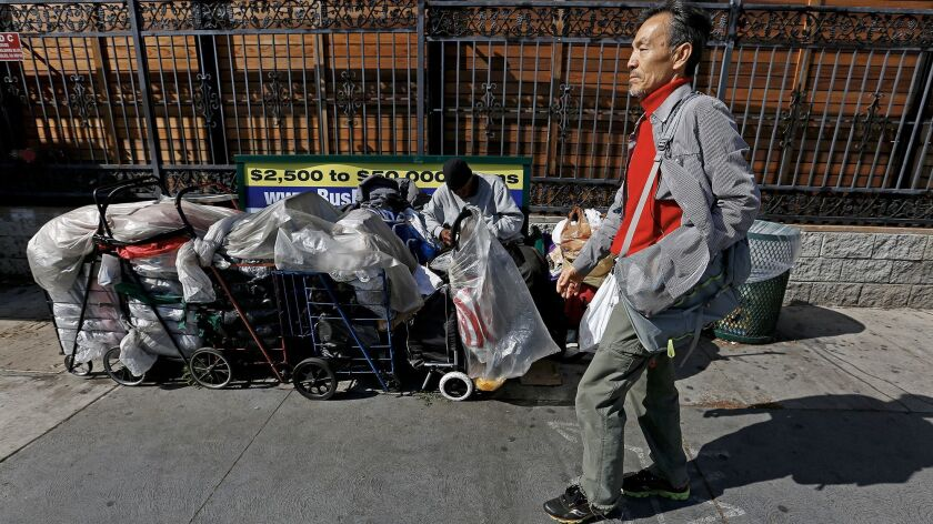 Seon Jin Kim heard about the unofficial homeless shelter in Koreatown from an itinerant Korean man h