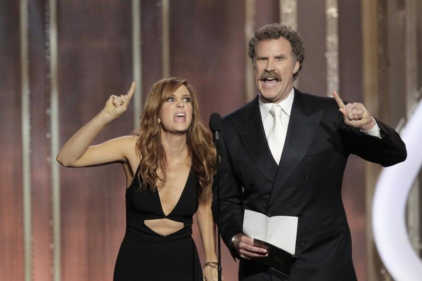 Kristen Wiig joins Will Ferrell in 'Anchorman' sequel