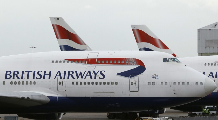 """British Airways announced a """"very sophisticated malicious criminal attack"""" on its website that compromised customers' credit card information."""