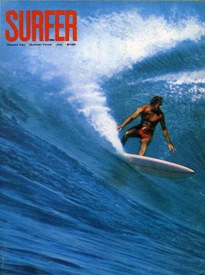 Surfer magazine cover.