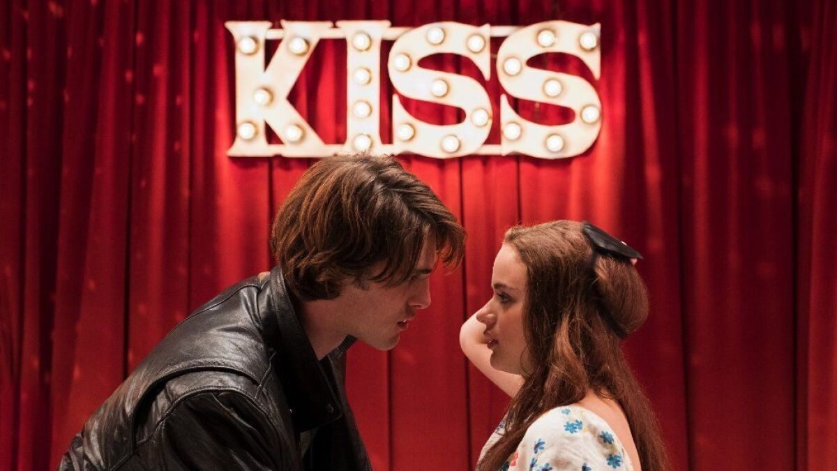 Joey King Calls Out Jacob Elordi For Kissing Booth 2 Claim Los Angeles Times