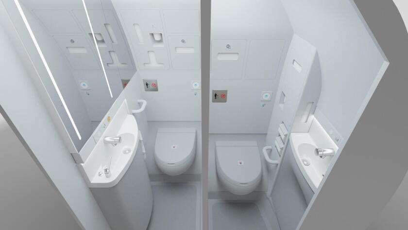 Airbus lavatory