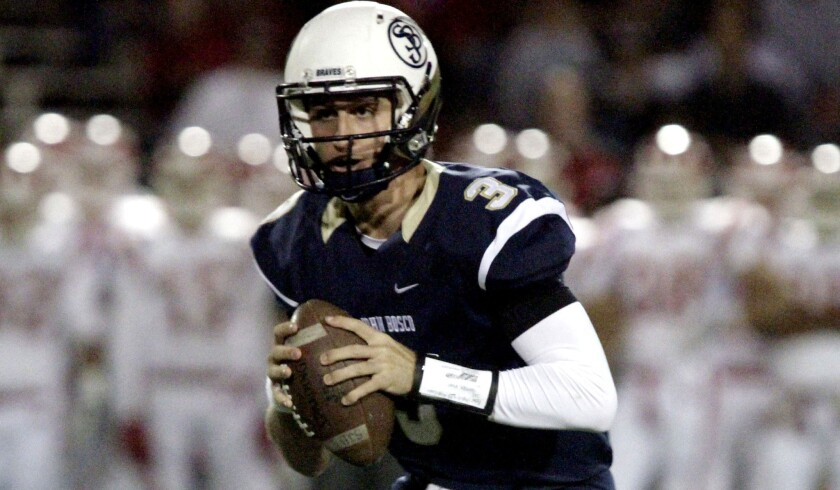 Josh Rosen, the quarterback from St. John Bosco, has already enrolled in classes at UCLA and will try to win a starting job in training camp.