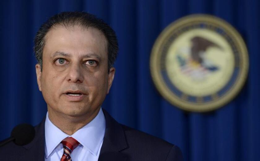 """Según informó Preet Bharara, fiscal federal del Distrito Este de Nueva York, donde se llevó la causa, el jurado declaró culpable a El Gammal porque se había convertido """"en un embajador del EI en Estados Unidos"""". EFE/ARCHIVO"""