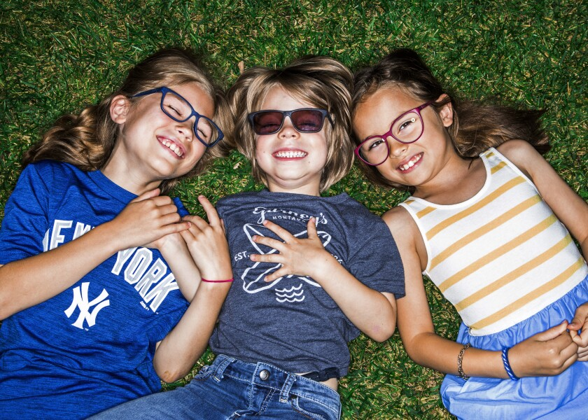 Sherman Oaks-based Fitz Frames offers a subscription service that replaces kids' glasses when they get broken.