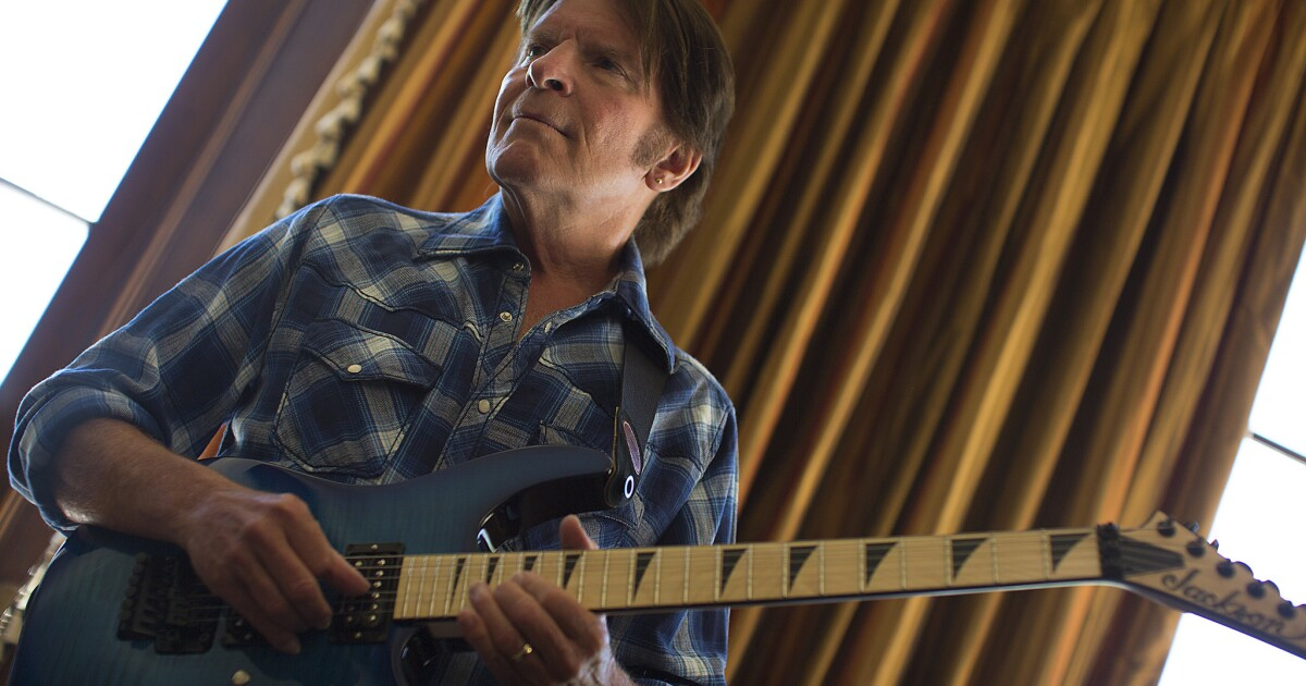 john fogerty tour launches in may autobiography due this fall los angeles times. Black Bedroom Furniture Sets. Home Design Ideas