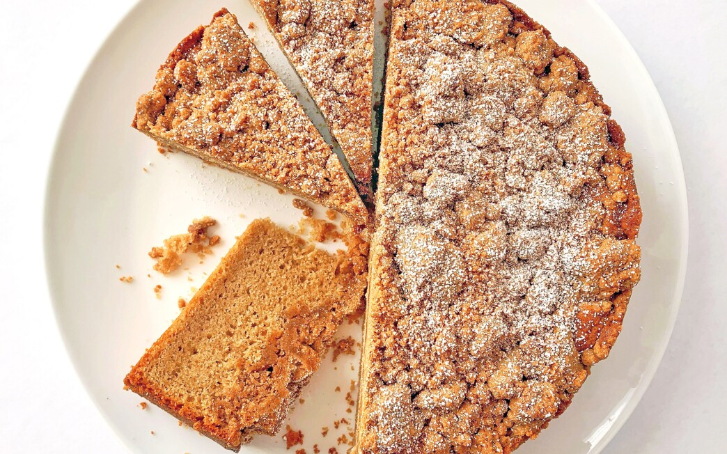 Brown butter and a generous dose of fresh cinnamon turn up the volume on crumb cake.