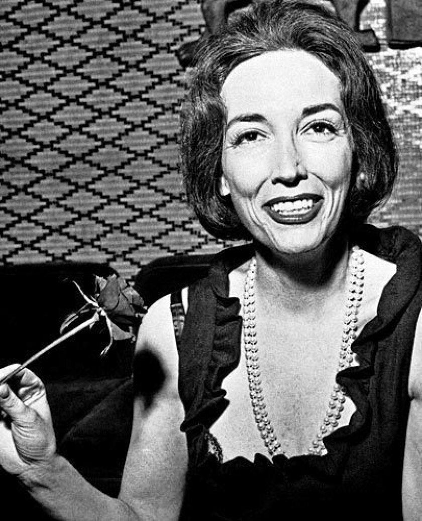 Author Helen Gurley Brown in 1964.