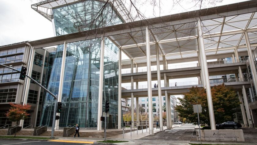 CalPERS headquarters in Sacramento. The building looks solid, but what about the management?