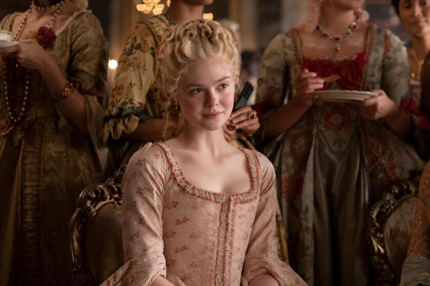 "Elle Fanning stars as Catherine II of Russia in Hulu series ""The Great."""