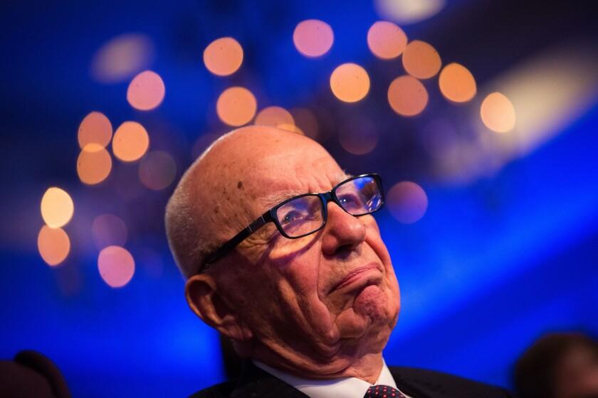 FILE: Murdoch Confirms A Bid For Time Warner