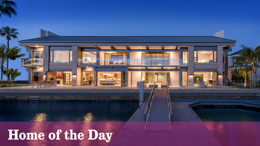 Home of the Day: Sittin' on the dock of the bay -- in luxury