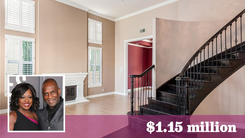 Actors Viola Davis and Julius Tennon have sold their longtime home in Granada Hills for $1.15 million.