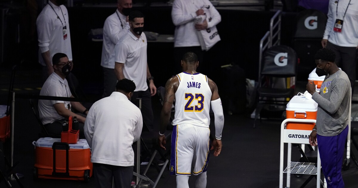 LeBron injury update: 3 observations on Lakers situation – Los Angeles Times