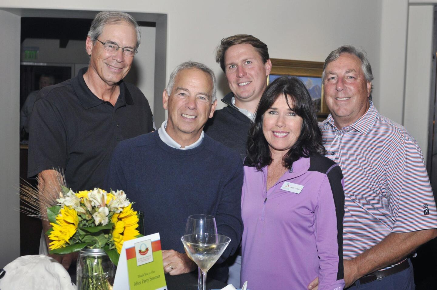 Dan Zazworsky, Ron Wilcox, Josh Sherman, RSF Community Center Executive Director Linda and Tony Durket