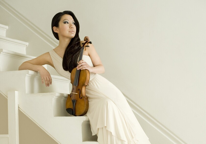Violinist Sarah Chang will perform in recital at the Musco Center for the Arts on Sunday.