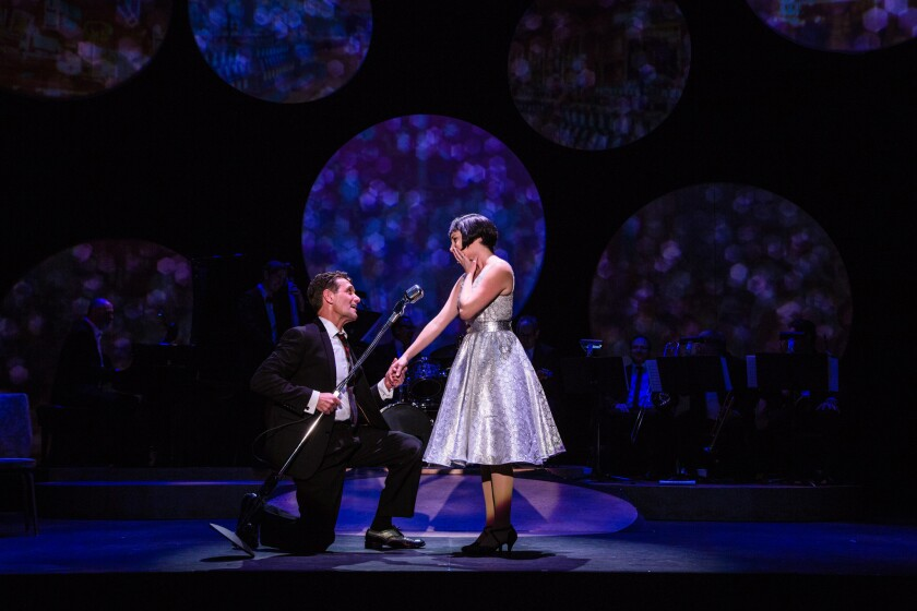 """'Louis & Keely: """"Live"""" at the Sahara' back in style at the Geffen"""