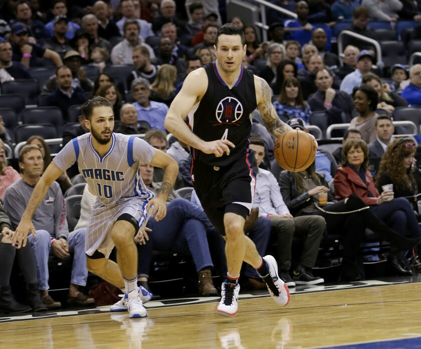 Clippers' J.J. Redick considers himself more than a longshot in NBA All-Star three-point contest
