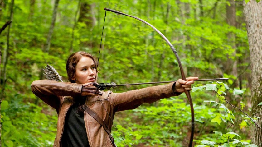 13) 'Hunger Games' attraction