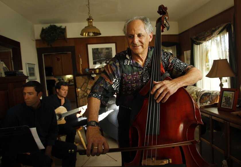Barry Green practices for the Bridging Gaps concert series. K.C. Alfred • U-T