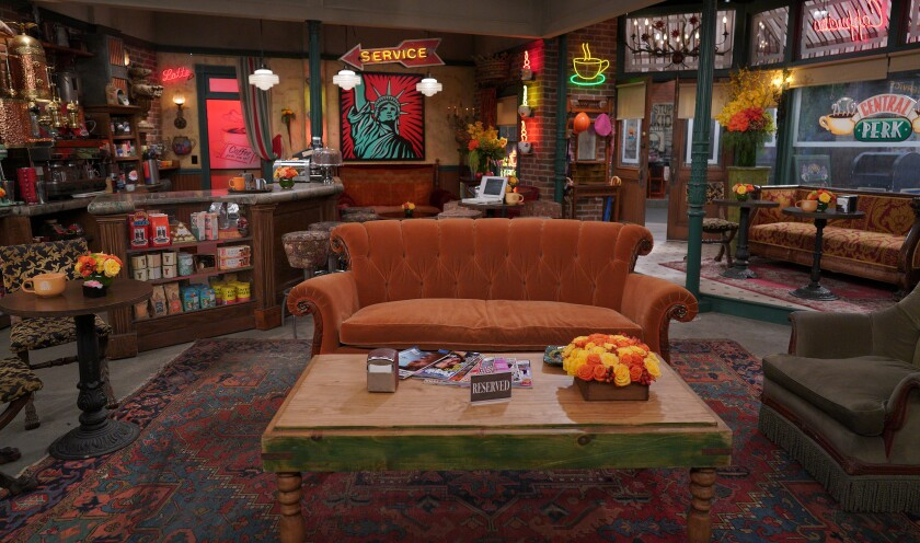 """The Central Perk set from """"Friends"""""""
