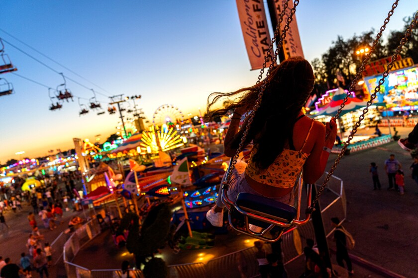 The California State Fair and Food Festival was scheduled to start July 17 in Sacramento. It was canceled over coronavirus fears.