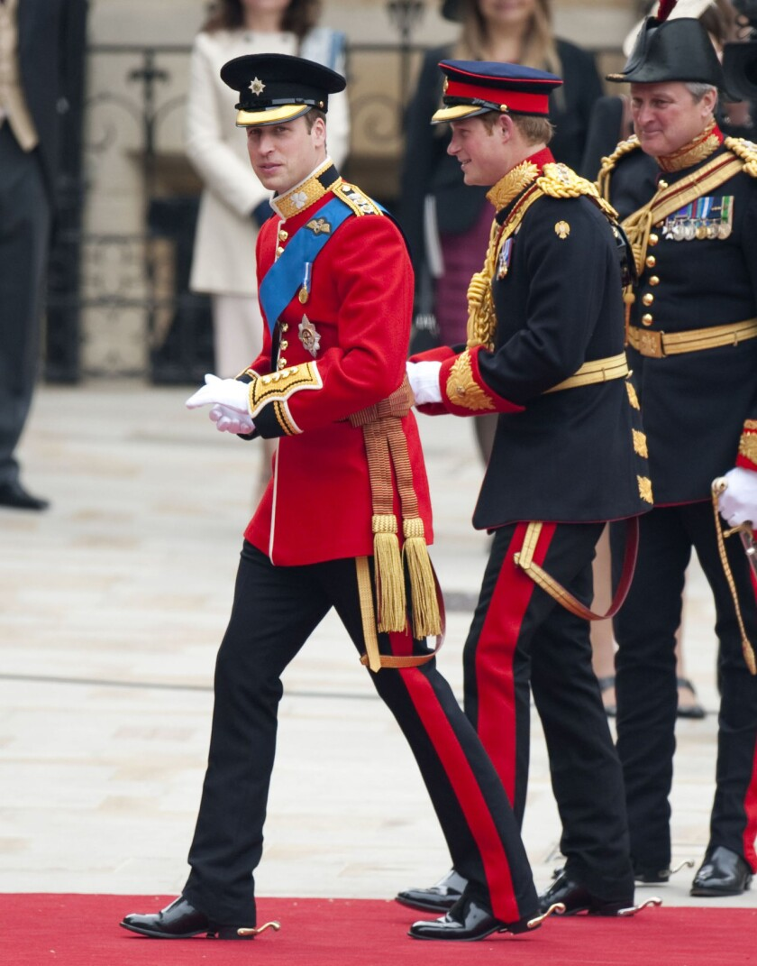 Royal Wedding Men's Dress Code: Uniforms, Medals and More