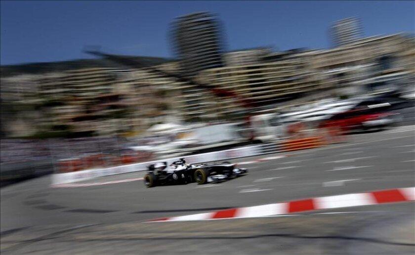 El piloto venezolano de la escudería Williams de Fórmula Uno, Pastor Maldonado. EFE