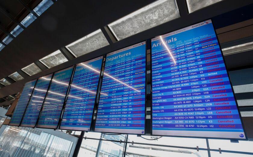 Flights canceled, schools closed as sub-zero polar vortex