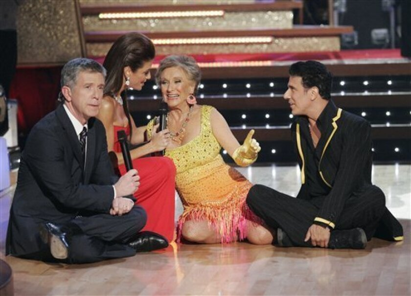 Cloris Leachman voted off `Dancing with the Stars' - The San