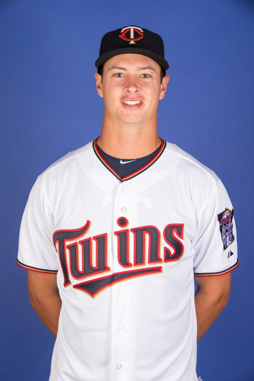 Stephen Gonsalves, a Cathedral Catholic graduate, is thriving in his first season of pro baseball after being selected by the Minnesota Twins. Courtesy photo
