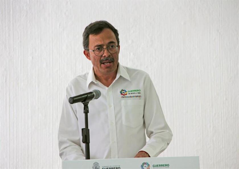 En la imagen, el vocero de seguridad de Guerrero, Roberto Álvarez Heredia. EFE/Archivo