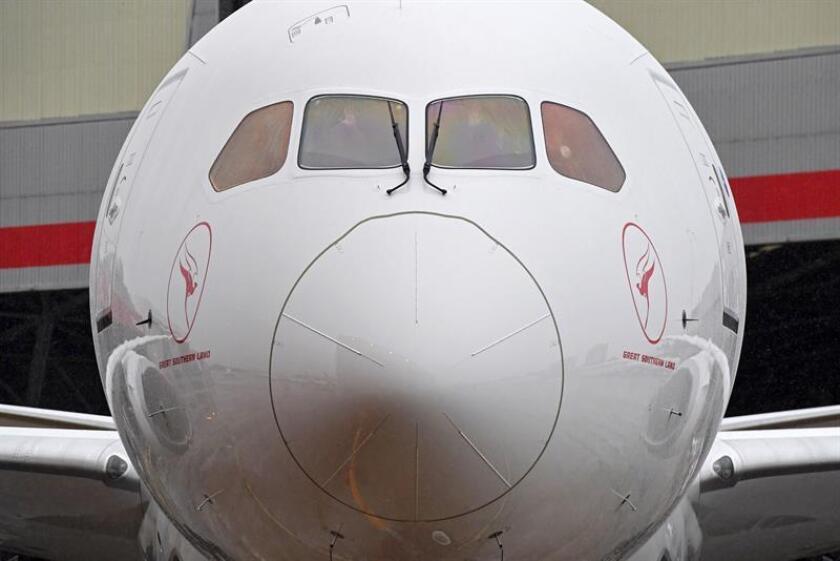 Vista de un avión Boeing 787 Dreamliner. EFE/Archivo