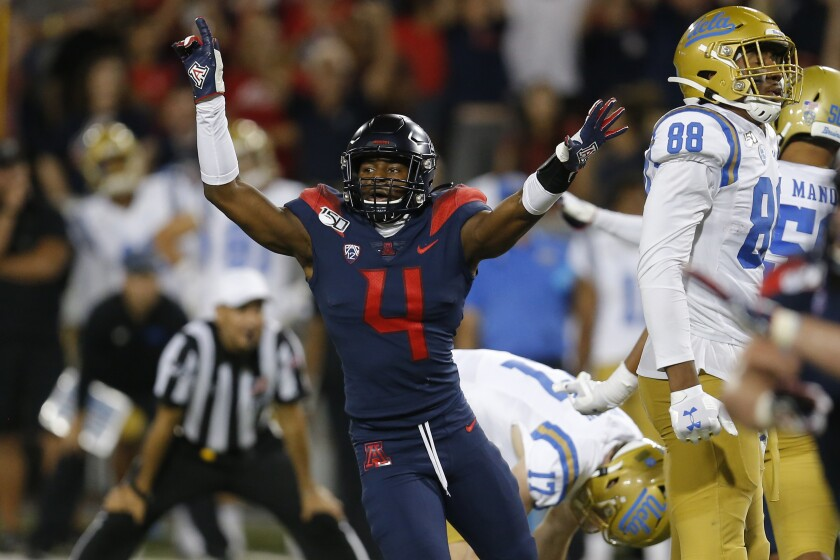 CORRECTION UCLA Arizona Football