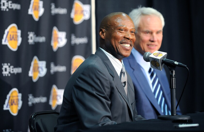 Byron Scott and Mitch Kupchak