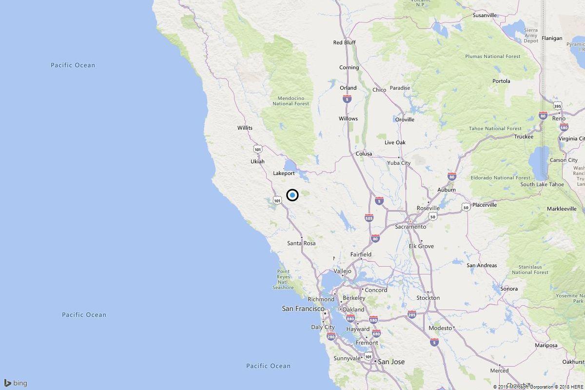 Earthquake: 3 7 quake strikes near Cobb, Calif  - The San Diego